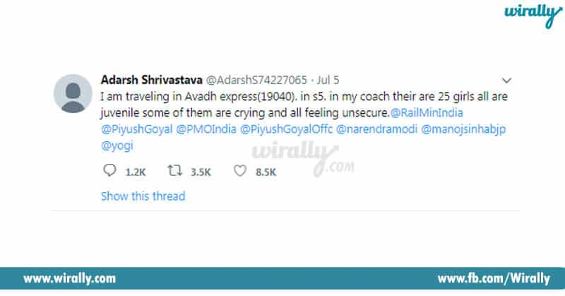Adarsh Srivastav's Timely Tweet