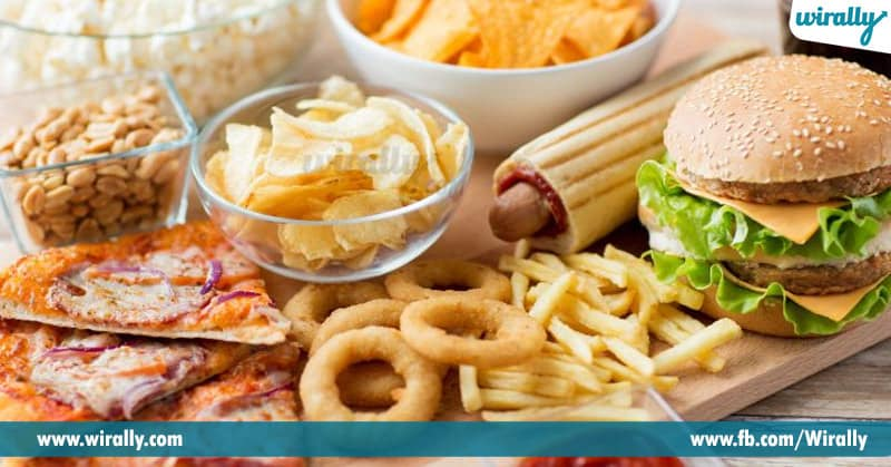 Unhealthy Food Habits At Workplace