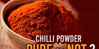 chilli powder is pure,