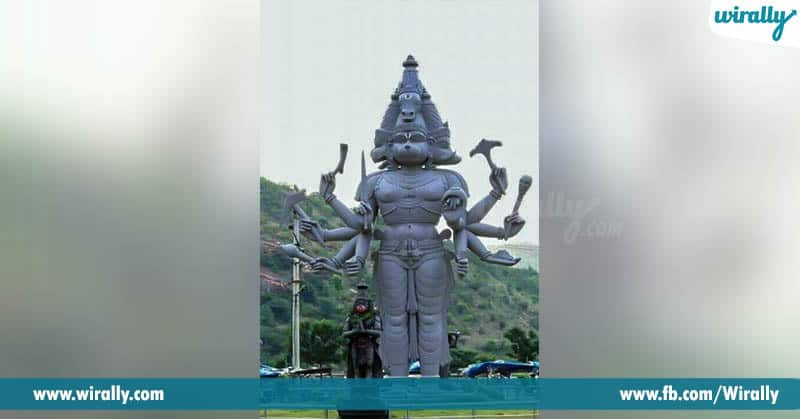 gandikota anjaneya swamy sculpture