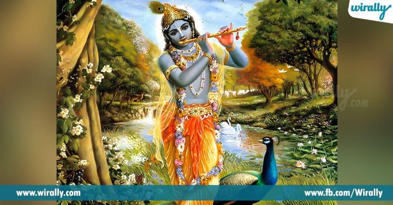 sri krishna still becomes the most holy person