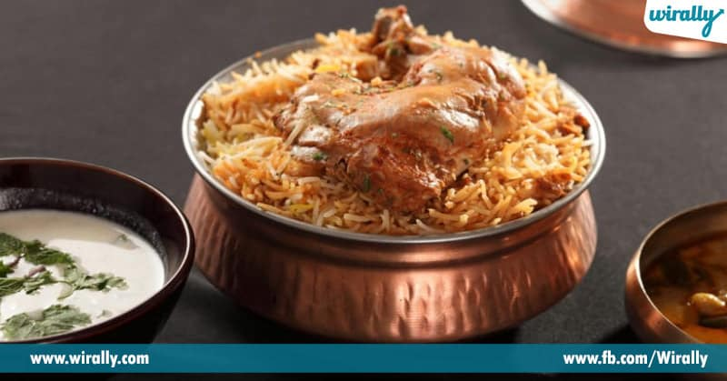 5-Hyderabadi chicken dum Biryani
