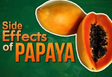 side effects of papaya