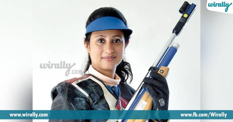 famous sportswomen in shooting