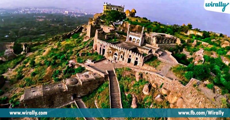 oldest forts of telangana