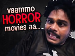 People While Watching A Horror Movie
