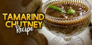 Tamarind Chutney At Home