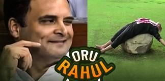 Rahul Gandhi Recreated Priya Varrier's Famous Wink And His Hug To Modi Is An Internet Sensation.