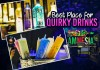 quirky drinks and food