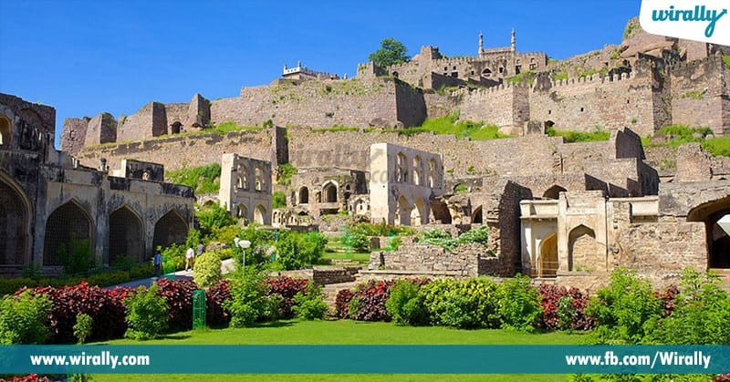 1 - golconda fort