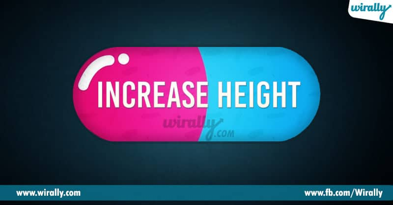 1 - increase height