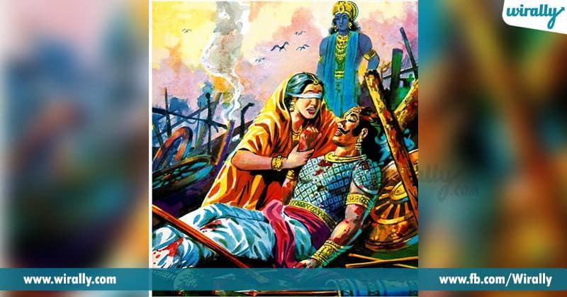 Gandadari Cursed Sri Krishna