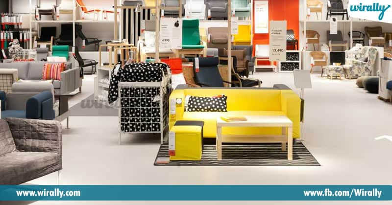 GaGa Over Furniture-Chain IKEA Store's
