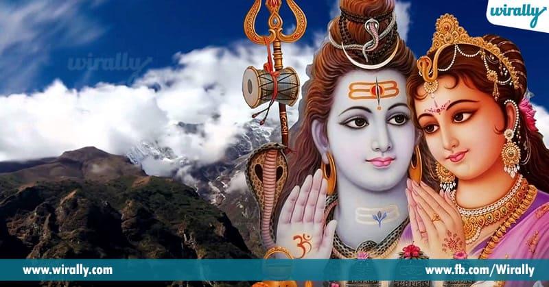 Lord Shiva Cursing River Godavari