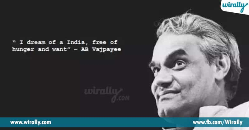 Policies And Contributions By Atal Ji