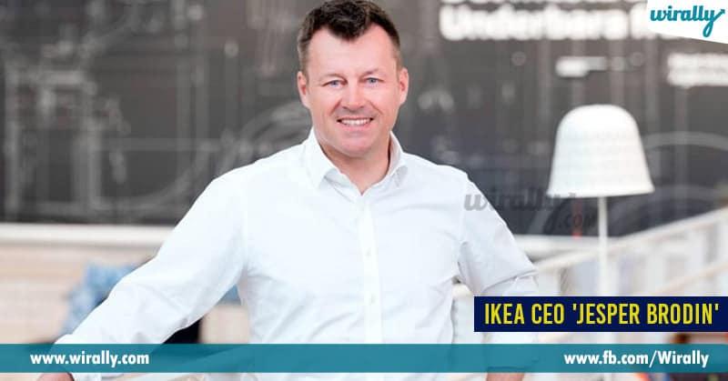4 - IKEA CEO 'Jesper Brodin'
