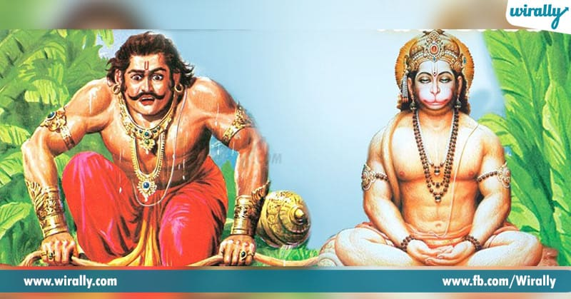 Bhima Fight with Hanuman