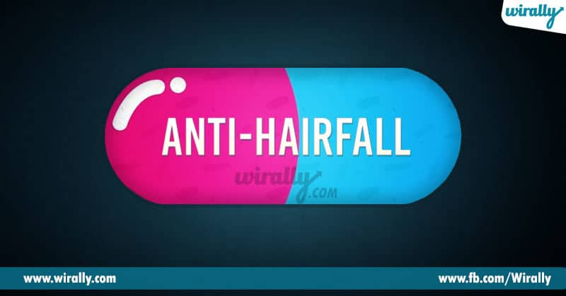 5 - hair fall
