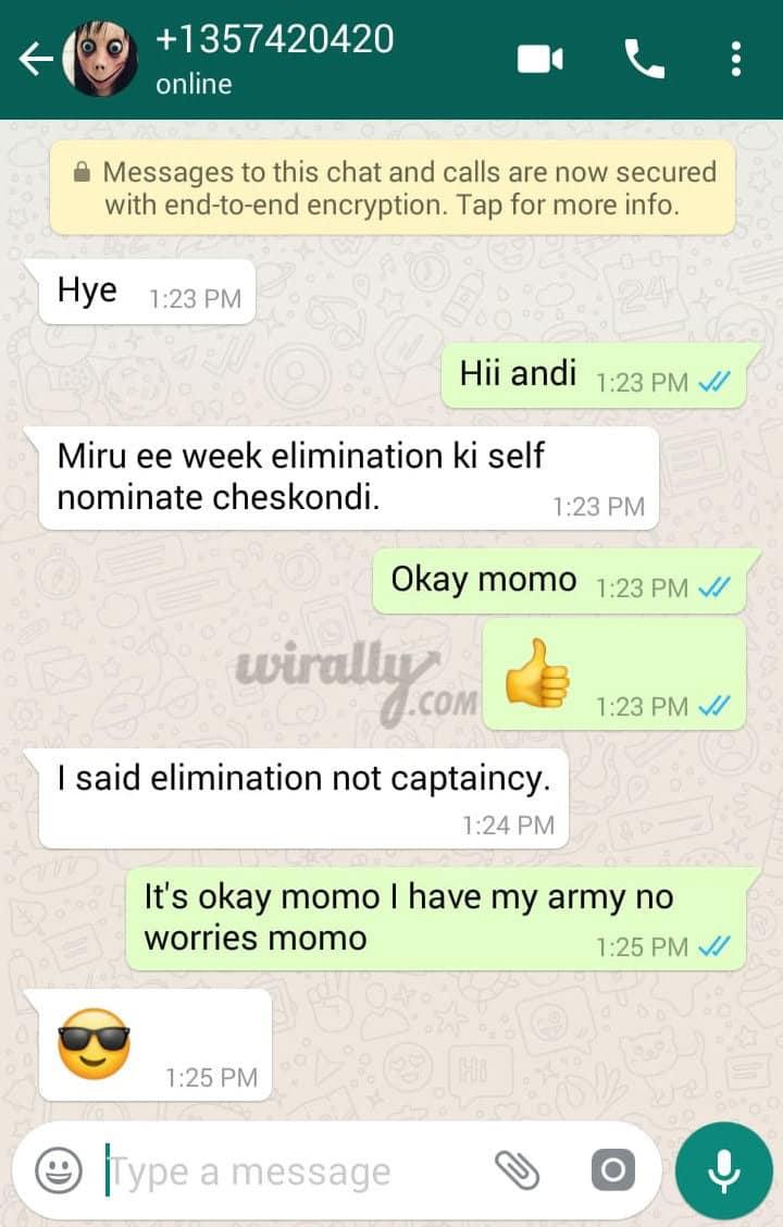 MOMO Says Hai To Bigg Boss Contestants
