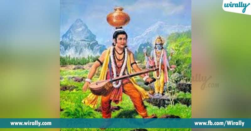 Narada cursed Vishnu