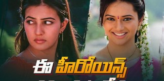 Tollywood Heroines Who Disappeared
