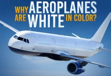 Aeroplanes Are White In Colour