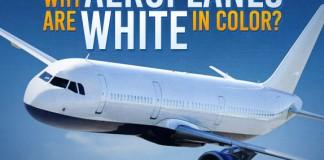 Aeroplanes Are White In Colour