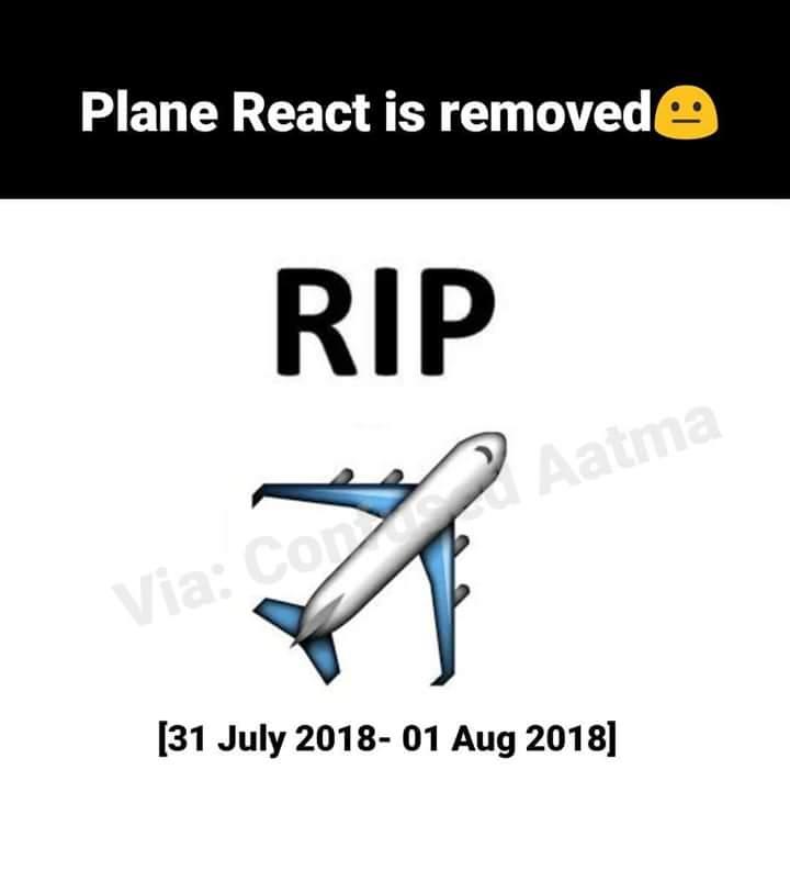 Aeroplane Emoji