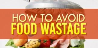 Avoid Food Wastage