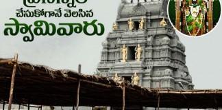 Temple of Lord Venkateswara Swamy