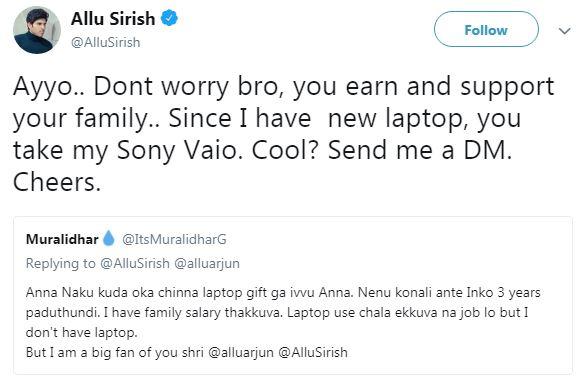 Allu Sirish Twitter Trolls