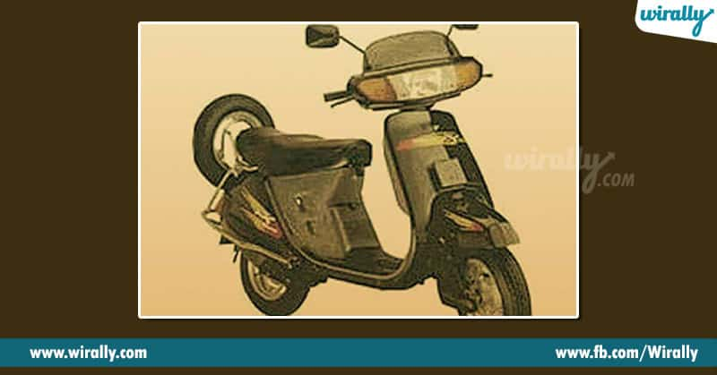 1. Kinetic Honda