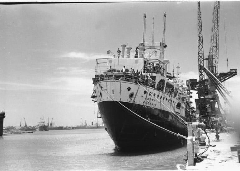 11. A PASSENGER SHIP NAMED ANDAMAN BEING BUILT AT VISAKHAPATNAM.