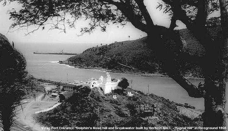 18. Vizag Port Entrance In 1950.