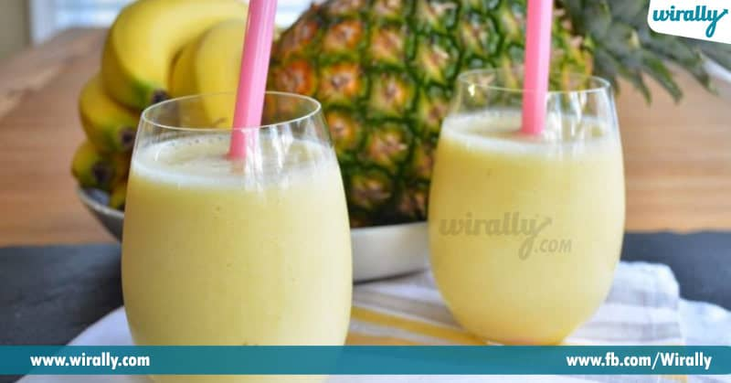 3-Pineapple Banana SMoothie