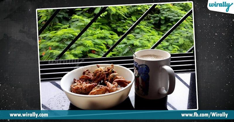 4 - tea and pakkoda