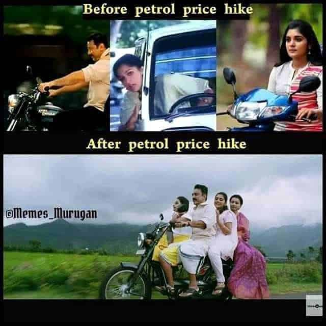 Petrol Hikes