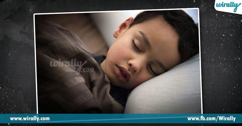 5 - sleeping