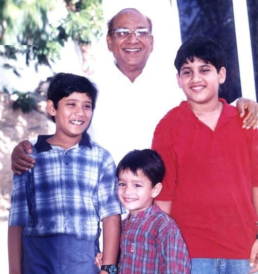 57. With Grandsons