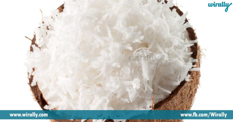 6-Grated coconut