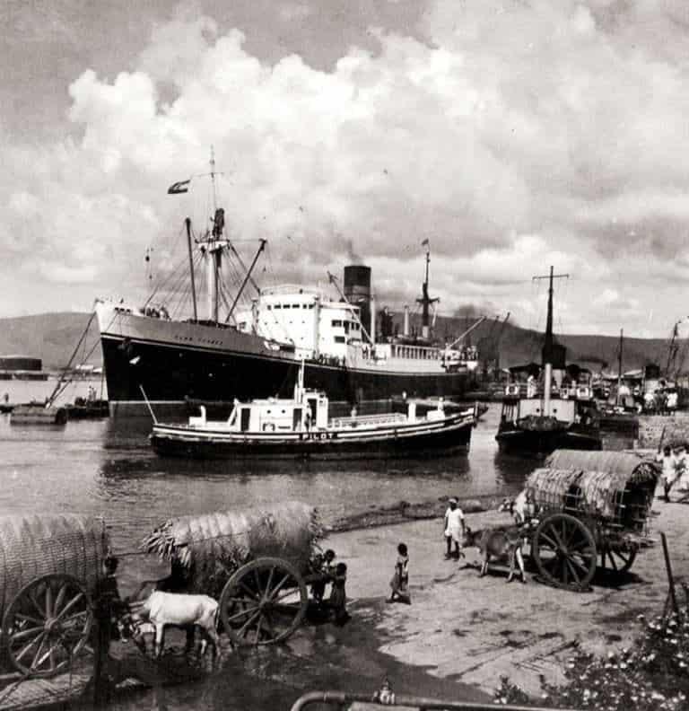 6. Halted Ship At Vizagapatnam Port During 1840.