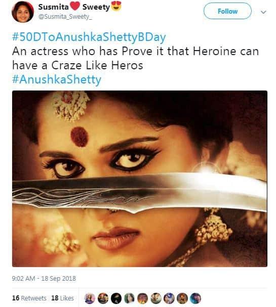 Tweets Anushka Fans