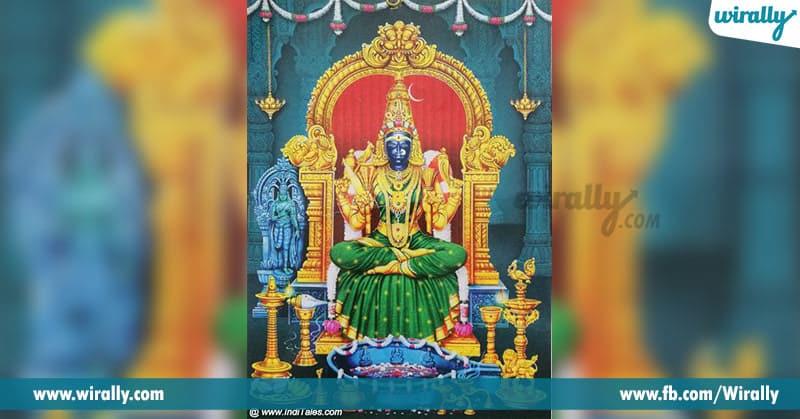 Kanchi Kamakshi Temple