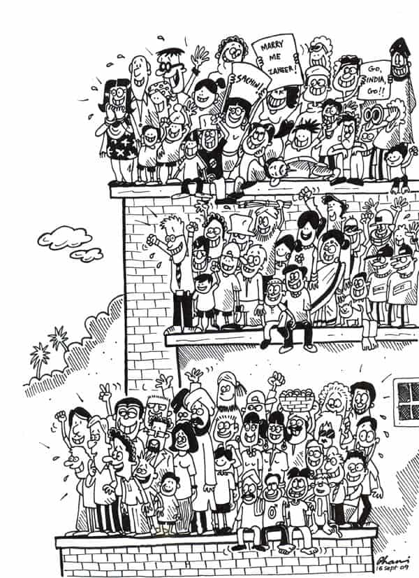Cartoonist R.K Laxman