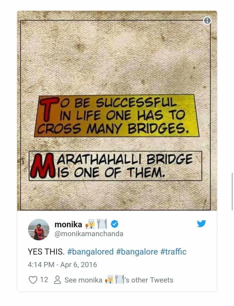 10. Bangalore Traffic Tweets