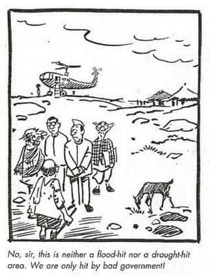 10. Cartoonist R.K Laxman