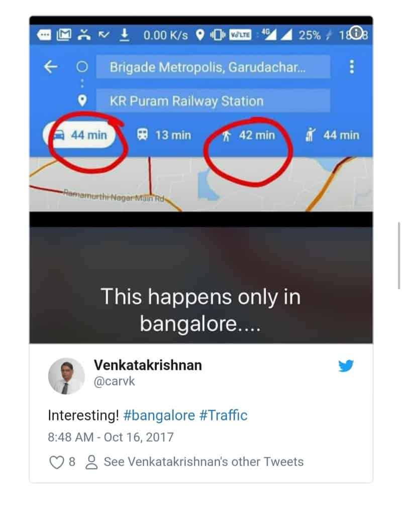 11. Bangalore Traffic Tweets