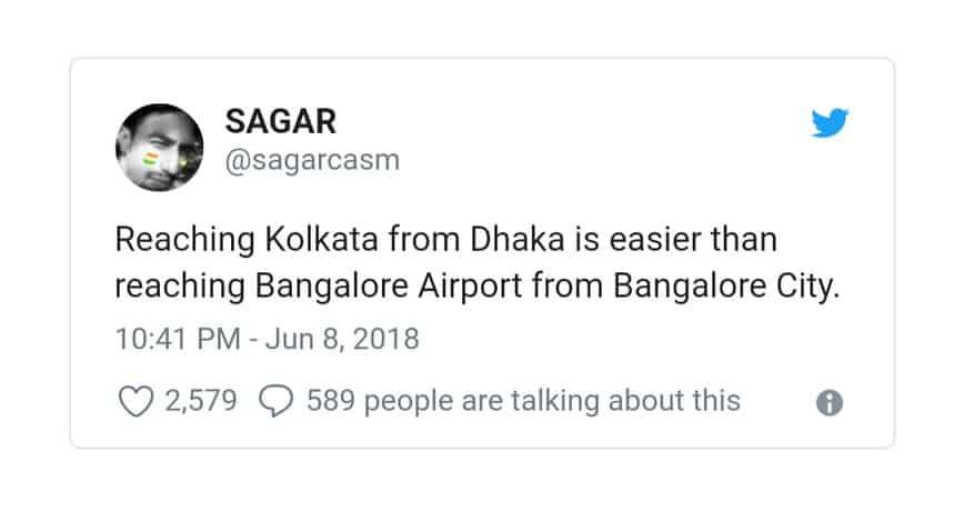 13. Bangalore Traffic Tweets