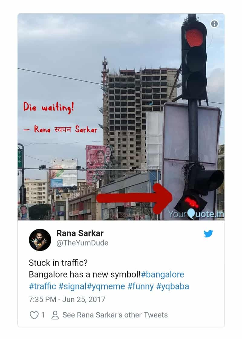 15. Bangalore Traffic Tweets