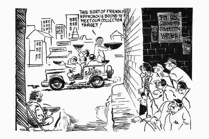 15. Cartoonist R.K Laxman